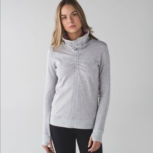 In a cinch pullover Lululemon